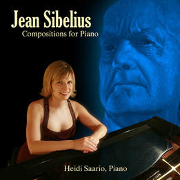 Cover of Jean Sibelius Composition for Piano CD